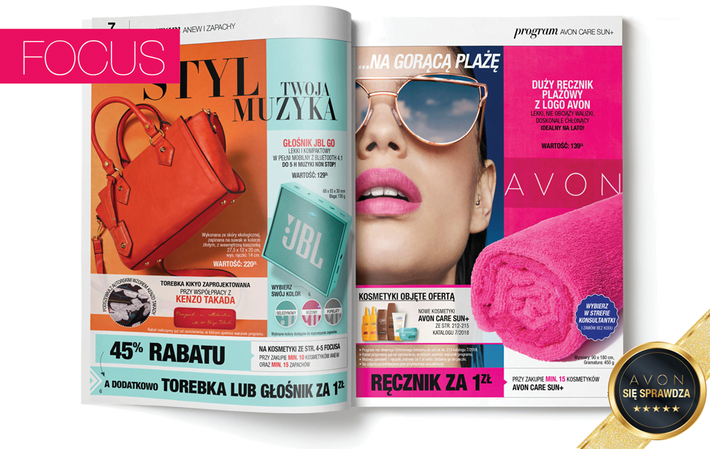 Katalog AVON 7/20178 Focus