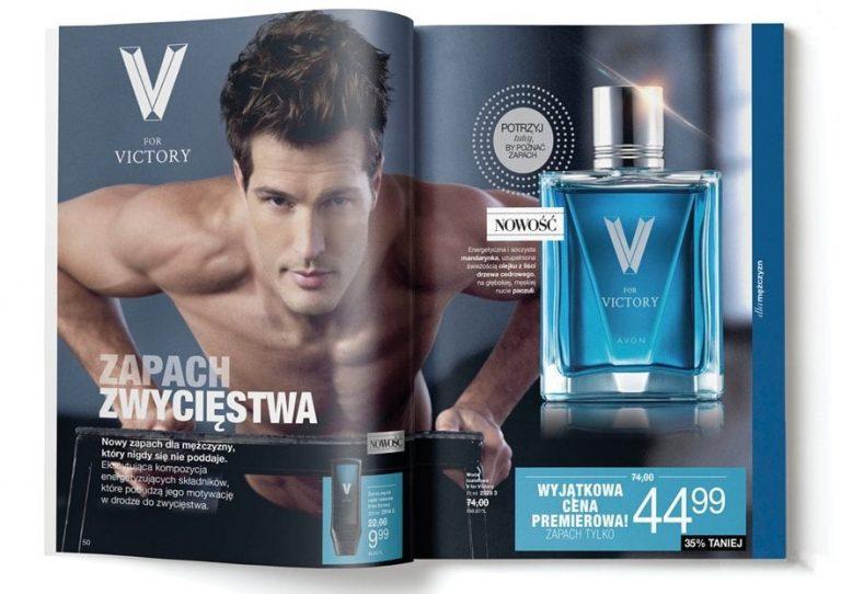 Woda toaletowa V for Victory - rozkładówka