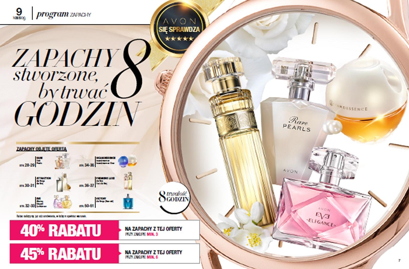 Perfumy Avon 40% taniej Katalog 9/2018