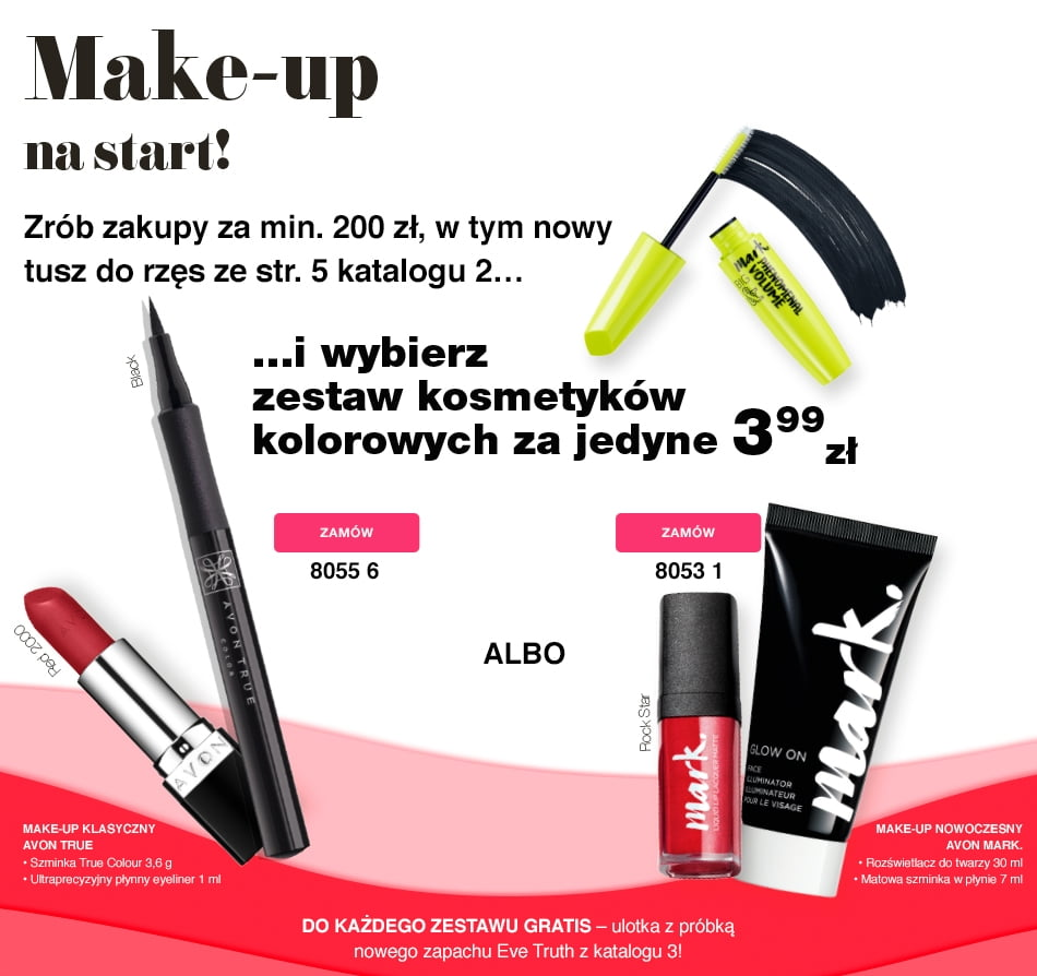AVON zestaw makijażowy